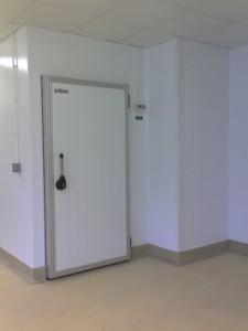 Door panel hinged