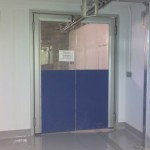 Doors pvc impact
