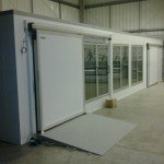 Doors MSD, ramp & glass